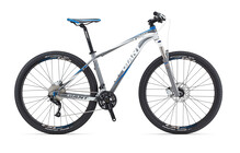 Giant Talon 29er 1 satin silver/white/blue